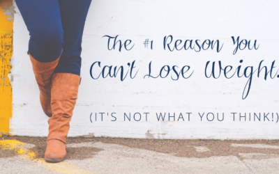 The #1 Reason You Can't Lose Weight… It's NOT What You Think!
